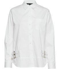 ax woman shirt overhemd met lange mouwen wit armani exchange