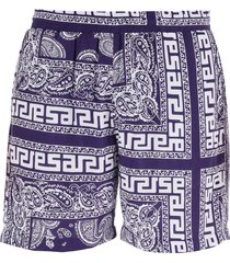 aries bandana print shorts