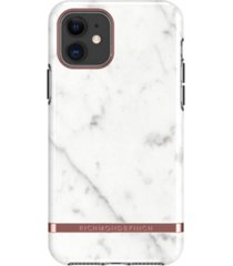 richmond & finch white marble case for iphone 11