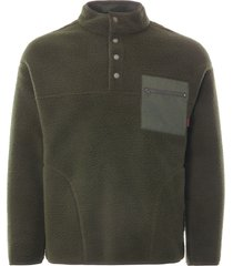 gramicci boa fleece zip jacket | olive | gm-410782 olv