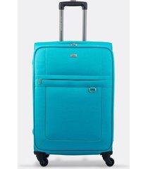 maleta de viaje mediana textil ruedas 360 00137