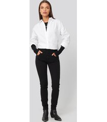 abrand a high skinny ankle basher jeans - black