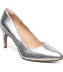 laina rae 2 shoes heels pumps classic silver clarks