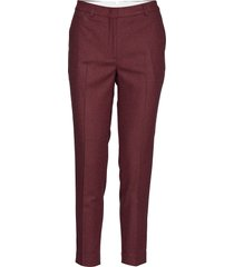 d1. washable str wool tapered pant slimfit broek skinny broek rood gant