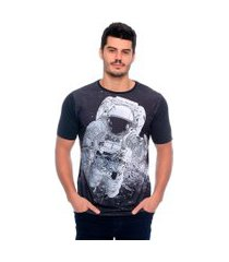 camiseta astronaut's pitch emporio alex malha grafite