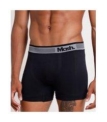 cueca masculina mash boxer preta