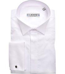 ledub smokingoverhemd mouwlengte 7 wit