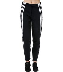 womens 3-stripes doubleknit zipper pants