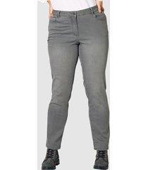jeans slim fit janet & joyce grijs