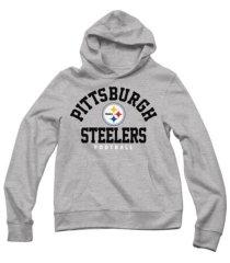 authentic apparel men's pittsburgh steelers established hoodie