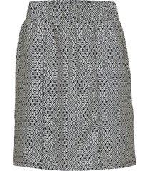 athleisure skort kort kjol grå röhnisch