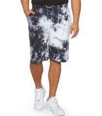 mvp collections by mo vaughn productions men's big tall tie-dye drawstring shorts