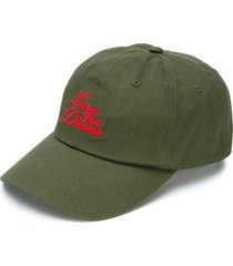 032c embroidered baseball cap - green