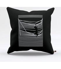 almofada gato cortina