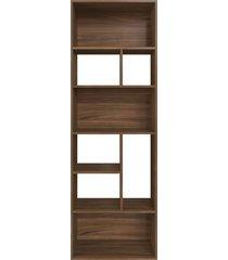 estante multiuso 180cm modern office 8 nichos madeirado e estilare móveis