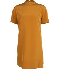 short sleeve mock dress