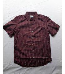 camisa bordó mistral dante slim fit