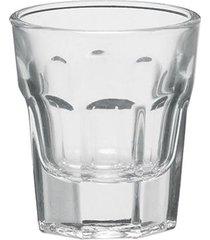 conjunto de 6 copos shot em vidro 50 ml
