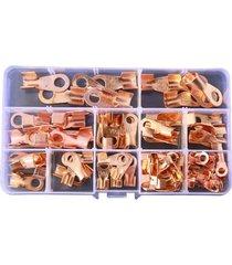 90pcs ot terminal cobre anillo espolones kits ot-10a 20a 30a 40a 50a,