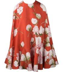 valentino cape mini dress