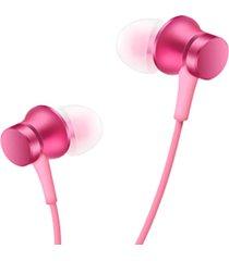 audifonos in-ear alámbricos xiaomi mi hsej03jy - rosa