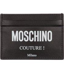 moschino - credit card holder