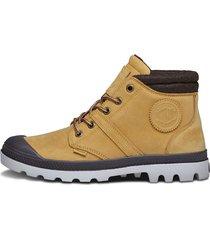 botas marrón claro palladium 95138-280