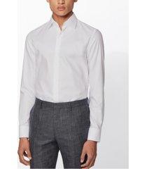 boss men's jango white shirt