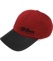gorra rojo-negro colore