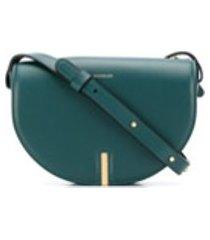 wandler bolsa tiracolo nana de couro - verde