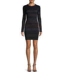 lenox glimmer knit dress