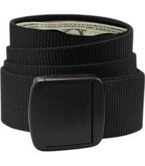 cinturon hombre t-lock belt black negro doite