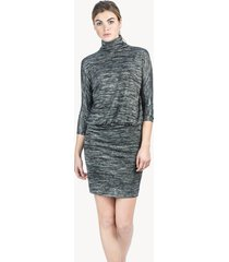 lilla p 3/4 sleeve blouson dress