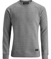 bjorn borg centre heren sweatshirt licht geborsteld fleece regular fit