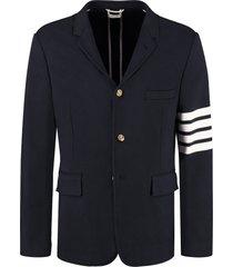 thom browne cotton piqué blazer