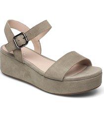 elevate plateau sandal shoes summer shoes flat sandals grön ecco