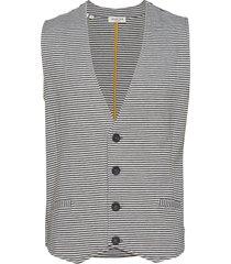 slhblair sweat waistcoat w ex kostymväst grå selected homme