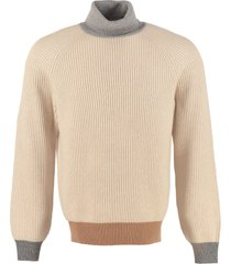 brunello cucinelli ribbed knit pullover