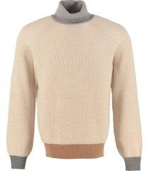 brunello cucinelli ribbed knit pullover