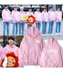 kpop sf9 feeling sensation cap hoodie sweater pink zuho sweatershirt dawon coat
