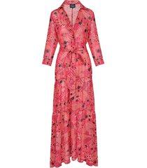 sukienka carla pink boho