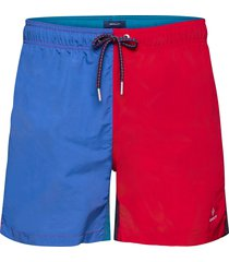 cf color block swim shorts shorts casual röd gant