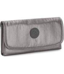 billetera kipling mujer ki474729u gris