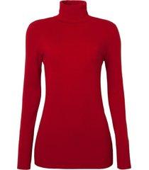 blusa le lis blanc luara iii tricot vermelho feminina (paprica, gg)
