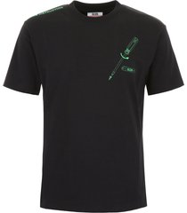 gcds t-shirt with instructions embroidery