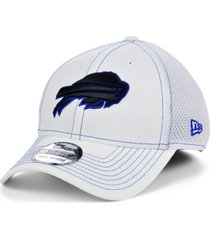 new era buffalo bills white team color tonal neo 39thirty cap