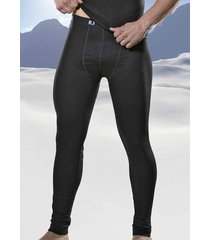 rj bodywear thermo lange onderbroek zwart