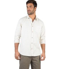 camisa listrada manga longa taco masculina