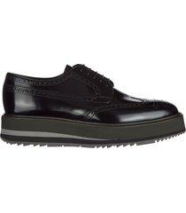 scarpe stringate classiche uomo in pelle spazzolato fume derby