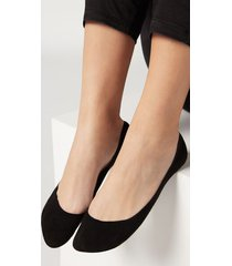 calzedonia invisible low cut socks woman black size 40-41